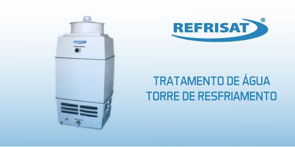 tratamento de agua torre de resfriamento