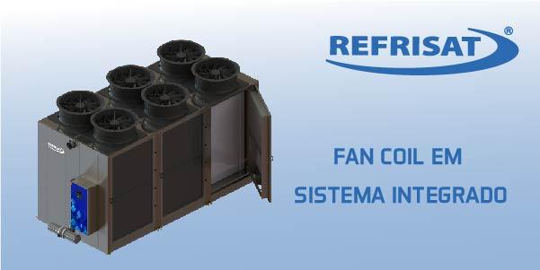 detalhes sobre fan coil em sistema integrado